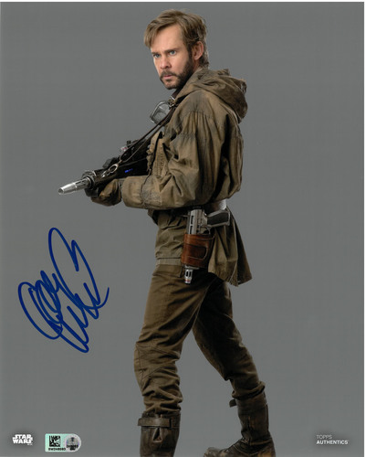 Dominic Monaghan As Beaumont Kin 8X10 AUTOGRAPHED IN 'Blue' INK PHOTO