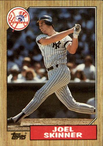 Photo of 1987 Topps #626 Joel Skinner