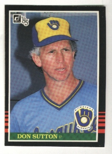 Photo of 1985 Donruss #107 Don Sutton