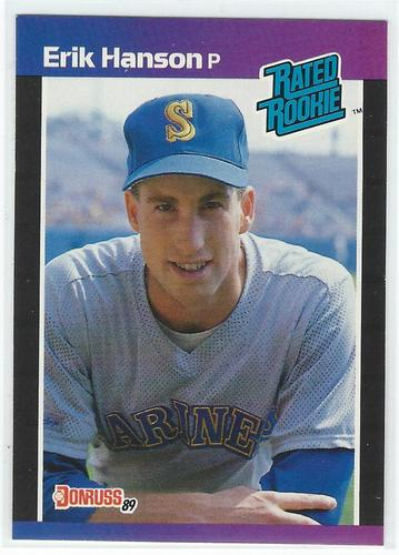 Photo of 1989 Donruss #32 Erik Hanson RR RC