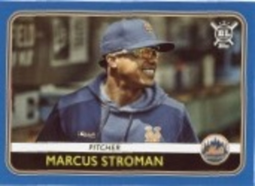 Photo of 2020 Topps Big League Blue #53 Marcus Stroman