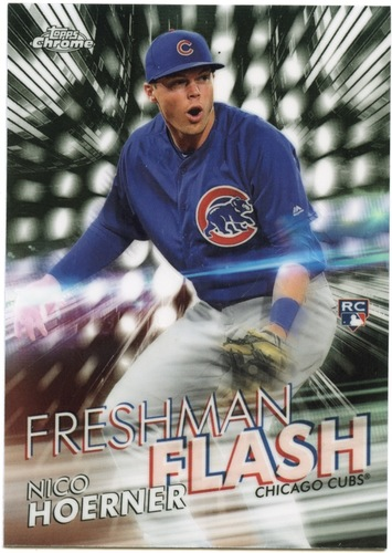 Photo of 2020 Topps Chrome Freshman Flash #FF10 Nico Hoerner