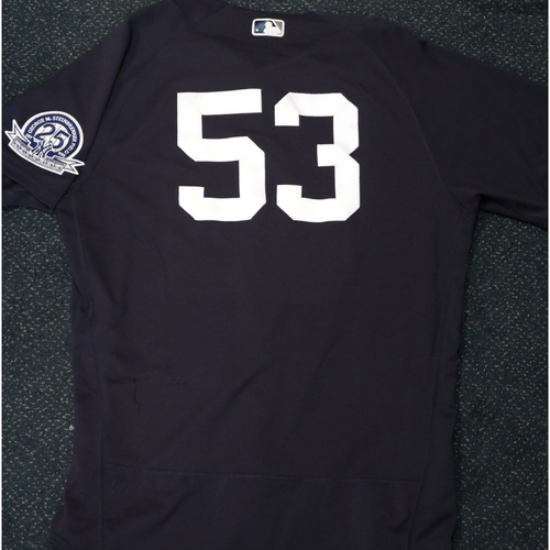 Photo of 2020 Game-Used Spring Training Jersey - Zack Britton #53 - Size 46