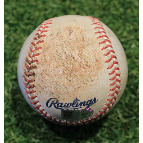 Photo of Game-Used Baseball: Shane Bieber 460th Career Strikeout (CLE @ KC 8/31/20)