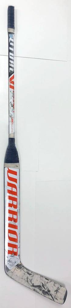 #19 Mikko Koskinen Game Used Stick - Autographed - Edmonton Oilers