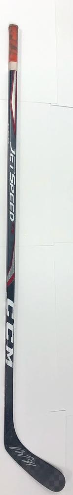 #81 Carsen Twarynski Game Used Stick - Autographed - Philadelphia Flyers