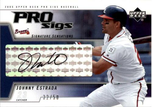 Photo of 2005 Upper Deck Pro Sigs Signature Sensations Silver #JE Johnny Estrada
