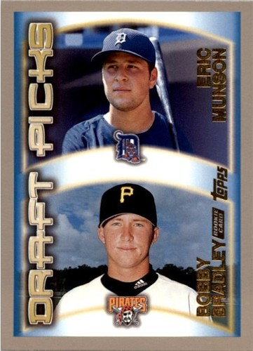 Photo of 2000 Topps #210 B.Bradley RC/E.Munson