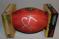 NFL - 49ERS SOLOMON THOMAS SIGNED AUTHENTIC FOOTBALL