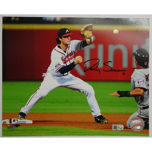 Photo of Dansby Swanson Autographed Photo - 25% off on Black Friday! (Regular Price: $85)