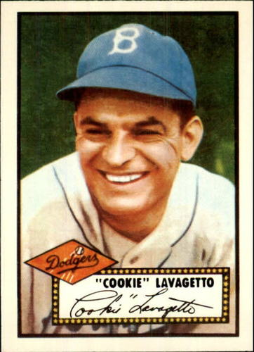 Photo of 1983 Topps 1952 Reprint #365 Cookie Lavagetto CO