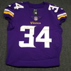 London Games - Vikings Andrew Sendejo Game Worn Jersey (2017)Washed by equipment manager Size 42
