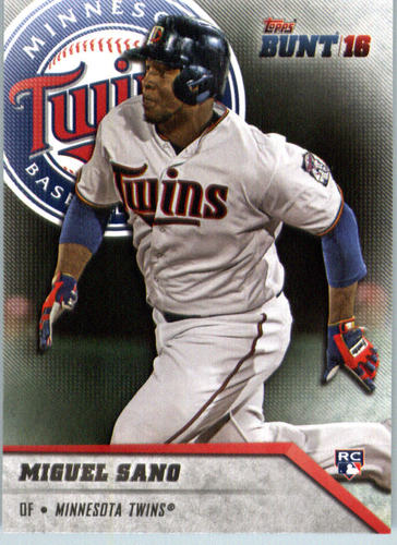 Photo of 2016 Topps Bunt #96 Miguel Sano Rookie Card