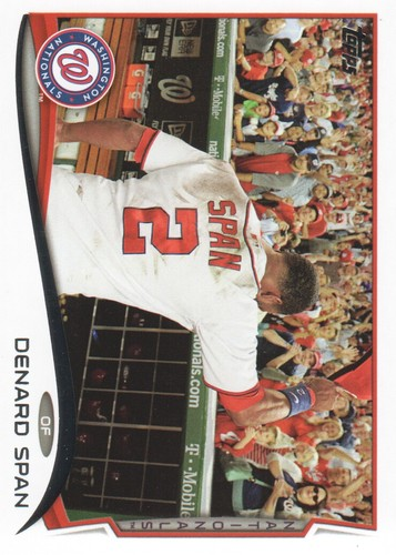 Photo of 2014 Topps #651 Denard Span