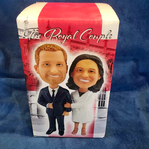 Photo of UMPS CARE AUCTION: The Royal Couple Bobblehead
