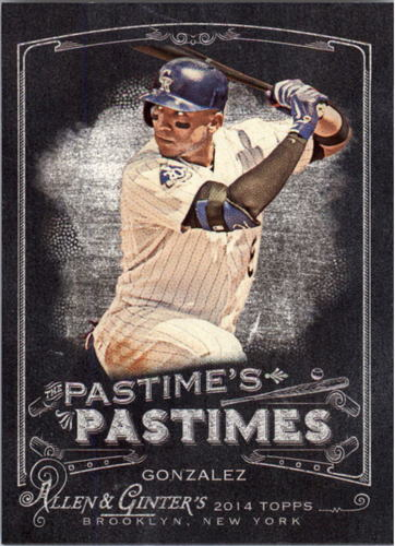 Photo of 2014 Topps Allen and Ginter The Pastime's Pastime #PPCG Carlos Gonzalez