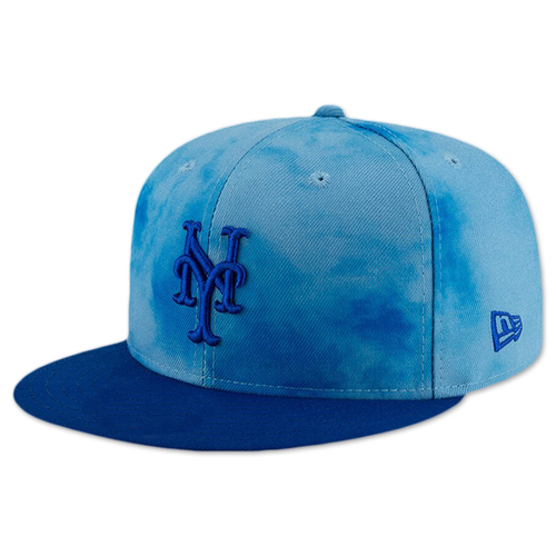 Photo of Dominic Smith #22 - Game Used Father's Day Hat - Mets vs. Cardinals - 6/16/19