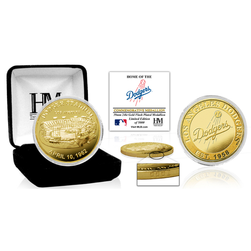 "Photo of Los Angeles Dodgers ""Stadium"" Gold Mint Coin"