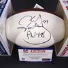 NFL - Broncos Karl Mecklenburg Signed Panel Ball