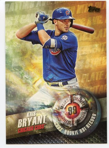 Photo of 2016 Topps Record Setters #RS13 Kris Bryant