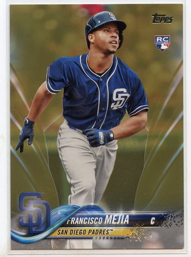 Photo of 2018 Topps Update Gold #US269 Francisco Mejia