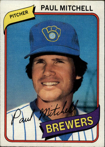 Photo of 1980 Topps #131 Paul Mitchell