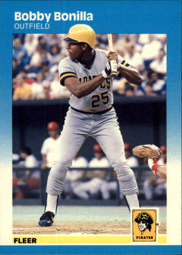 Photo of 1987 Fleer #605 Bobby Bonilla RC