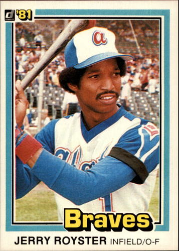 Photo of 1981 Donruss #339 Jerry Royster