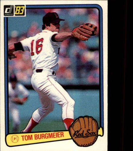 Photo of 1983 Donruss #235 Tom Burgmeier