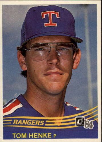 Photo of 1984 Donruss #134 Tom Henke RC