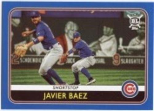 Photo of 2020 Topps Big League Blue #93 Javier Baez