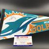 NFL - Dolphins Jaylen Phillips Signed Pennant