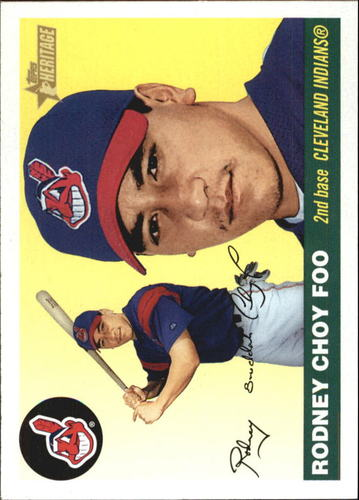 Photo of 2004 Topps Heritage #85A R.Choy Foo New Logo RC