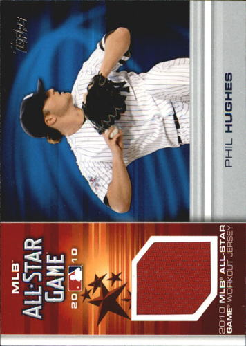 Photo of 2010 Topps Update All-Star Stitches #PH Phil Hughes