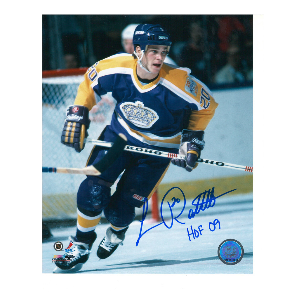LUC ROBITAILLE Signed/Inscribed Los Angeles King 8 X 10 Photo - 70460