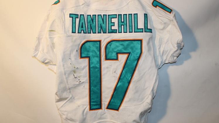 NFL Auction | DOLPHINS RYAN TANNEHILL GAME WORN JERSEY