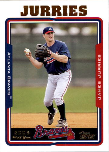 Photo of 2005 Topps #319 James Jurries FY RC