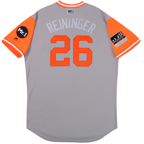 "Photo of Zac ""Reininger"" Reininger Detroit Tigers 2017 Game-Used Players Weekend Jersey"