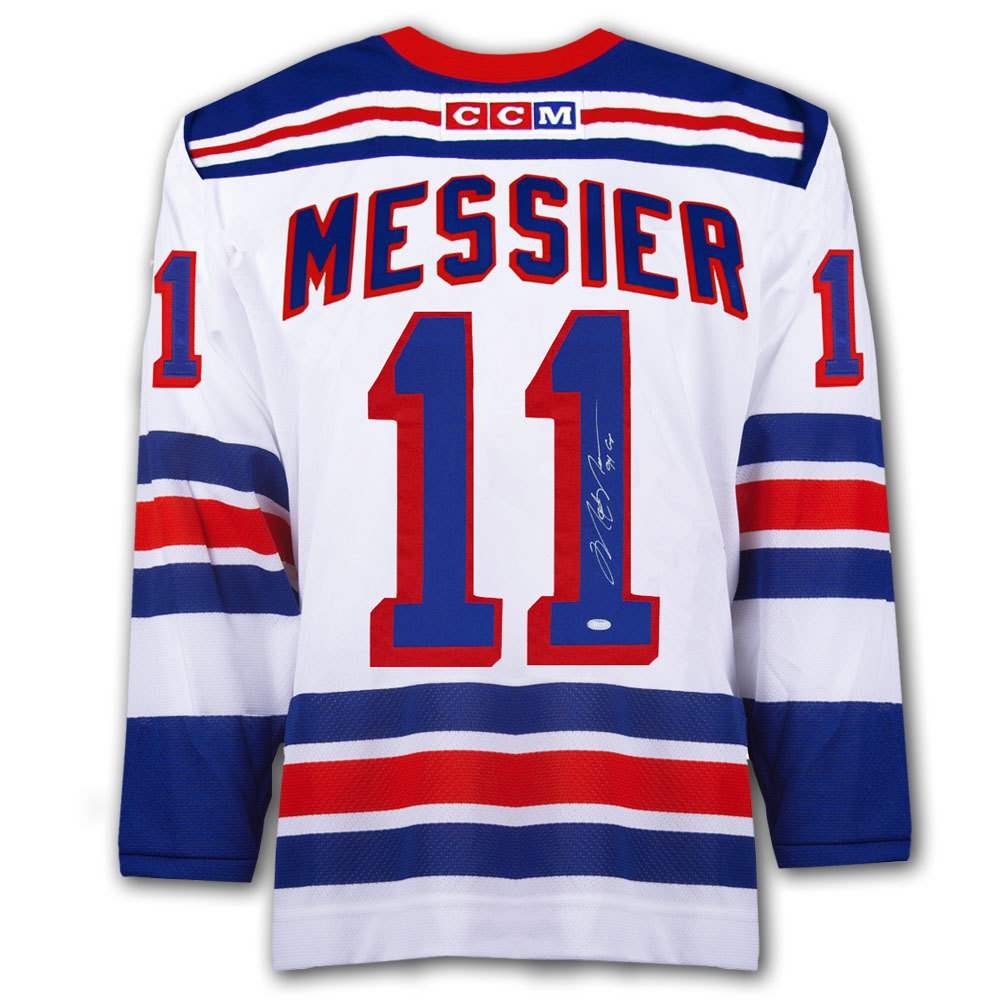 Mark Messier New York Rangers 94 CUP CCM Autographed Jersey