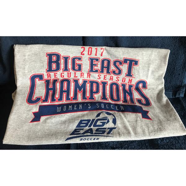 Photo of Women's Soccer Big East Regular Season Champions Tshirt