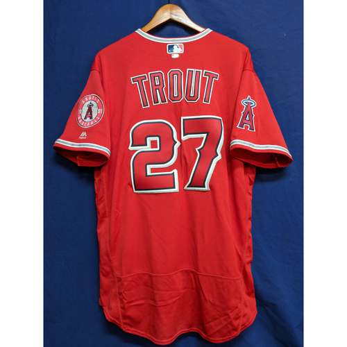 Photo of Mike Trout Game-Used Home Run Jersey