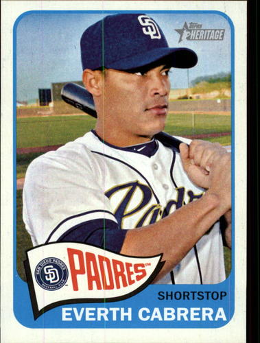 Photo of 2014 Topps Heritage #396 Everth Cabrera