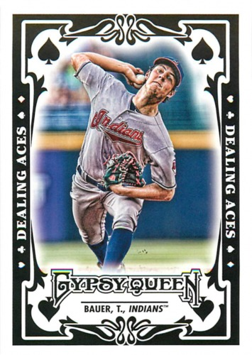 Photo of 2013 Topps Gypsy Queen Dealing Aces #TB Trevor Bauer