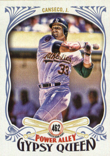 Photo of 2016 Topps Gypsy Queen Power Alley #PA3 Jose Canseco