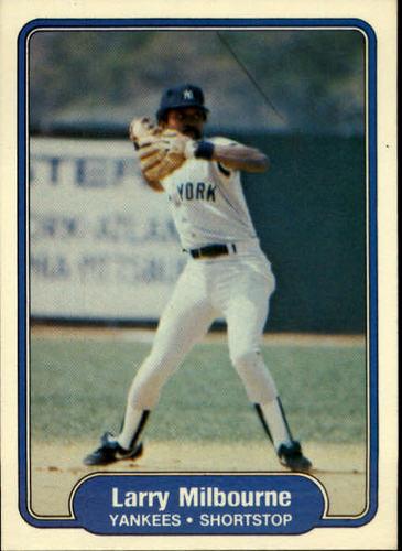 Photo of 1982 Fleer #42 Larry Milbourne