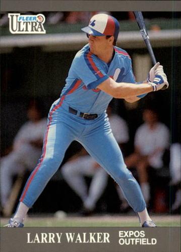 Photo of 1991 Ultra Update #93 Larry Walker