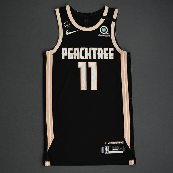 Image of Trae Young - Atlanta Hawks - 2020 MTN DEW 3-Point Contest - Event-Worn City Edition Jersey
