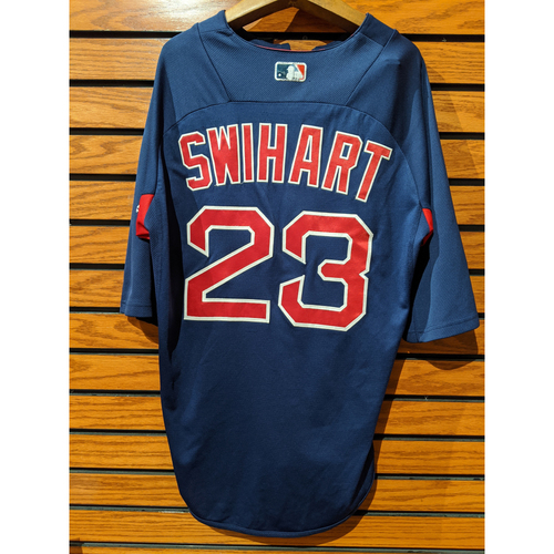 Photo of Blake Swihart Team Issued Blue Batting Practice Jersey