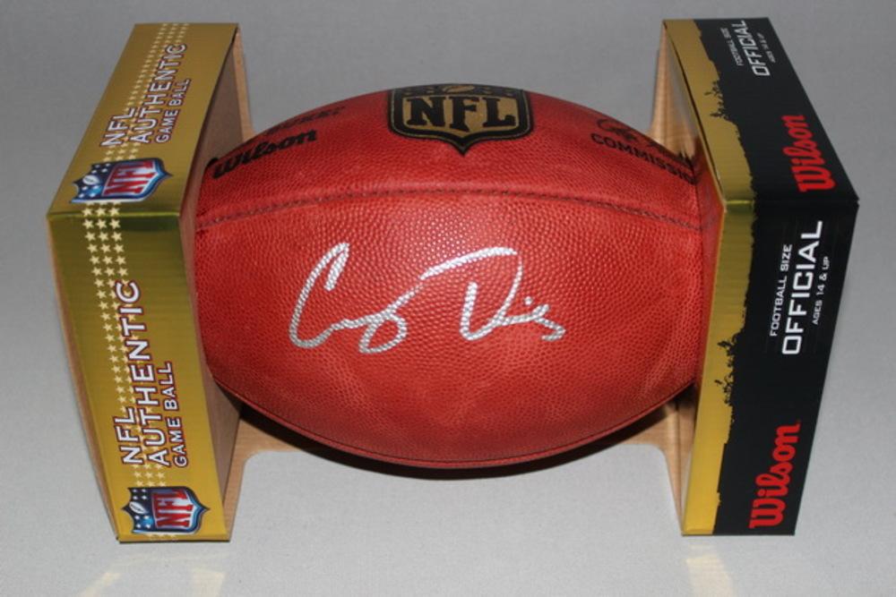 NFL - Titans Corey Davis signed authentic football