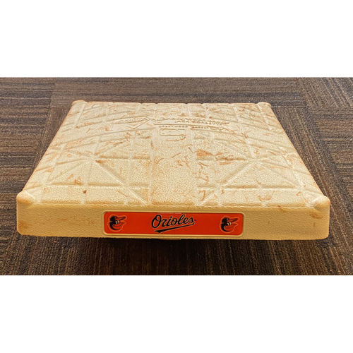 Game-Used 2nd Base - Tampa Bay Rays at Baltimore Orioles (9/20/2020)